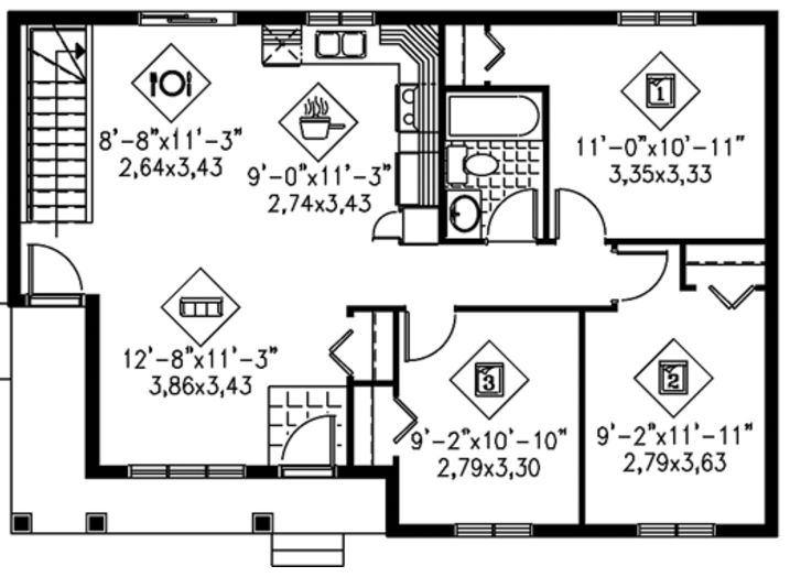 Modelos de casas de 80 metros