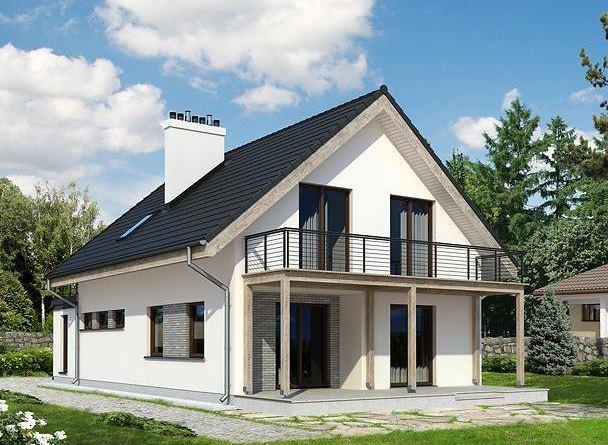 Modelos de casas de dos pisos con techo de chapa