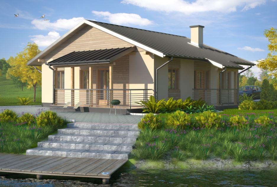 Planos de casas de 60 a 70 metros cuadrados