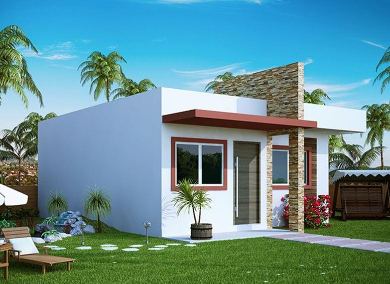 Dise o de casas planos de casas for Modelos de frentes de casas