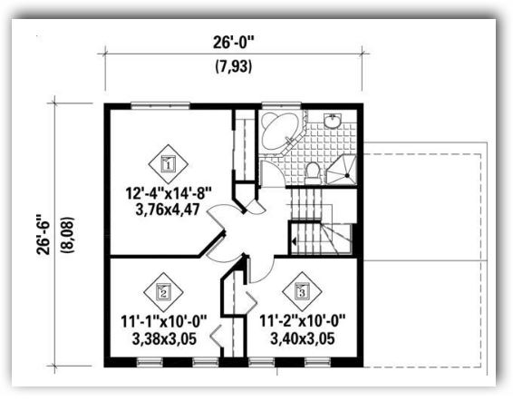 Diseños de casas en 130 metros cuadrados con planos y fachadas
