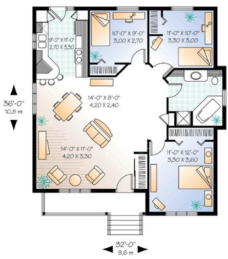 Diseños para casas sencillas pero bonitas