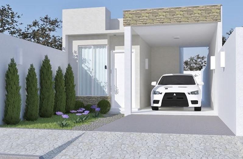 Fachadas para casas de 6 metros de frente