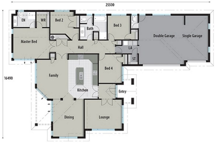 planos de casas modernas gratis+argentina