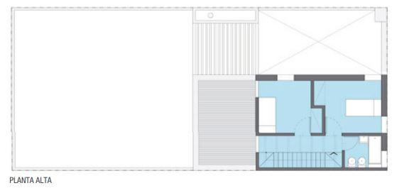 Planos de duplex 4 m de frente y 6 m de largo