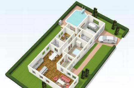 Programa para hacer fachadas de casas online for Hacer casas en 3d online