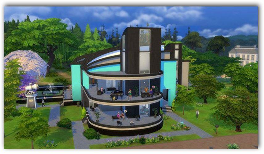 Sims 4 diseños planos