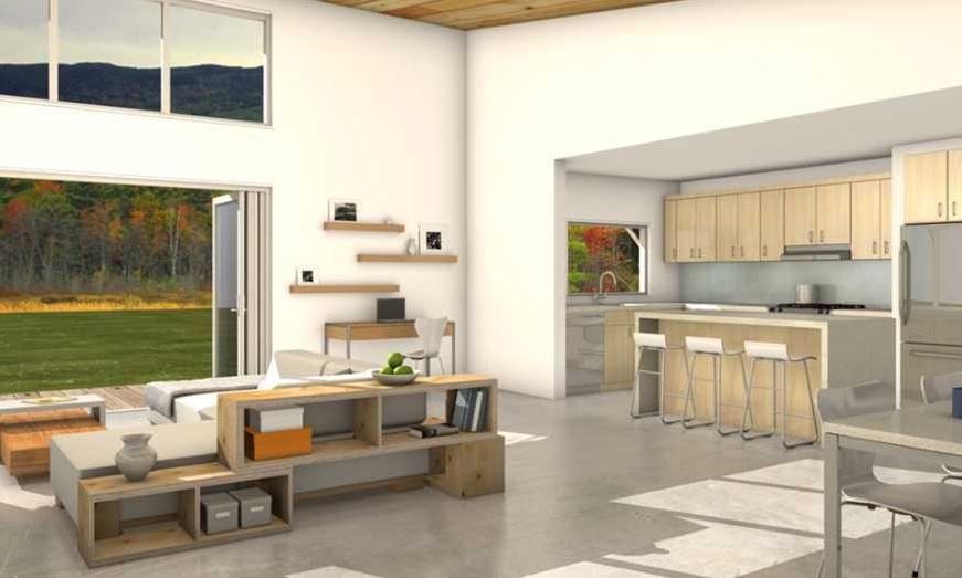 Planos casas de 2 dormitorios planos de casas for Decoracion de interiores 2015