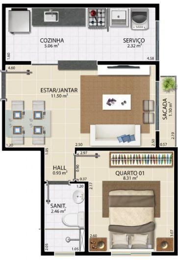 Cuales son las medidas minimas para apartamentos y sus planos