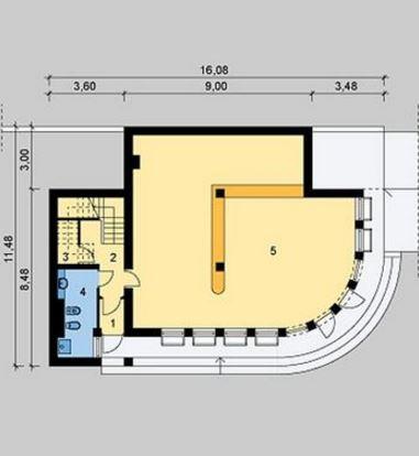 Diseño de un salón de fiestas