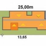 Planos de casas modernas 7×15 gratis