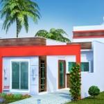 Formas para construir una casa en un terreno de 6×17