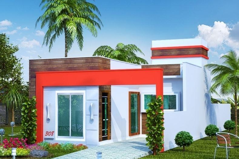 Casa en un terreno de 6x17