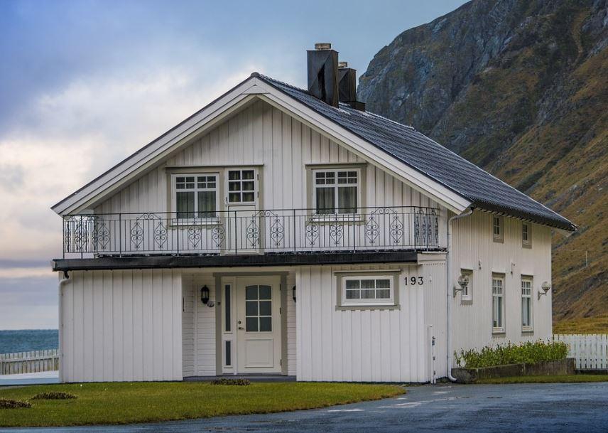 Fachadas casas de 2 plantas