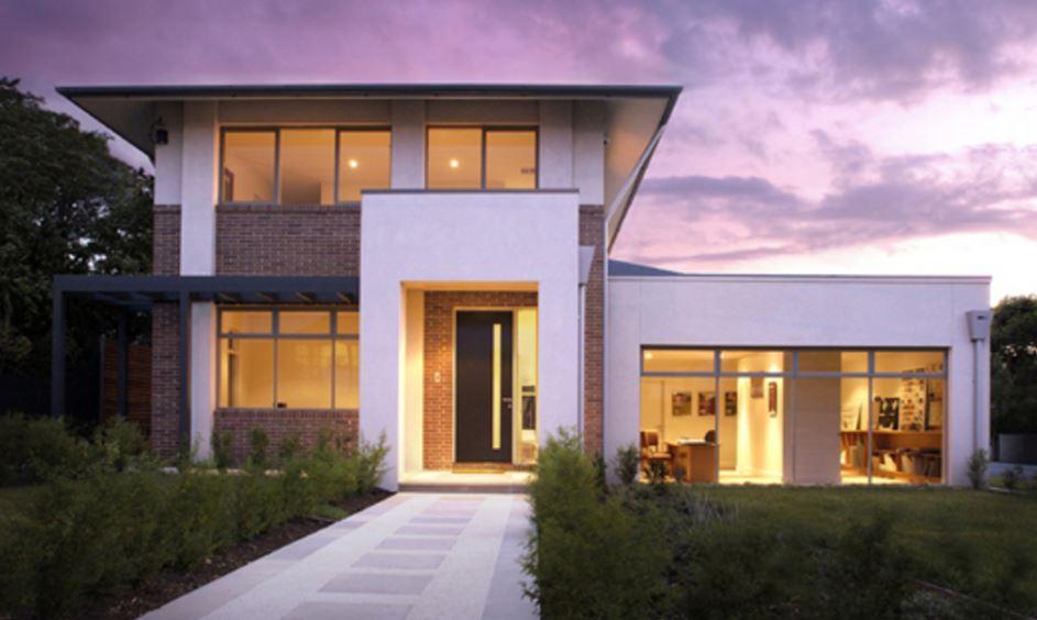 Fachadas casas modernas de 2 plantas