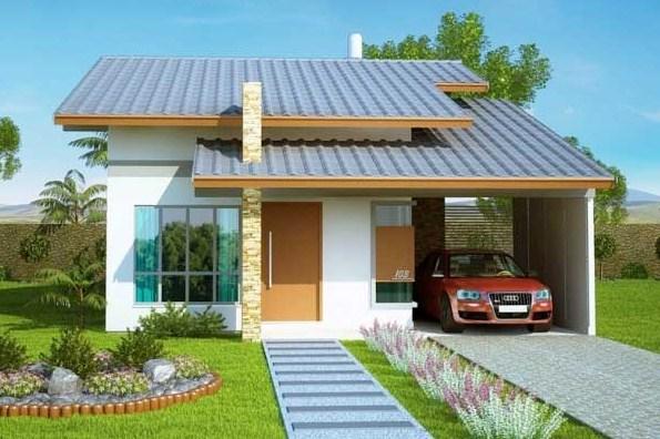Fachadas de casas de 10 mts de frente