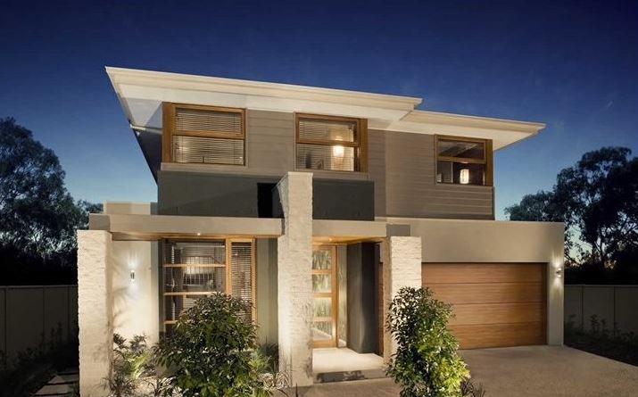 Fachadas de casas de 2 plantas for Modelos de fachadas para casas