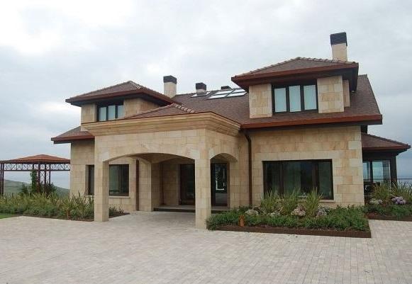 Fachadas de casas de 2 plantas for Fachadas para residencias