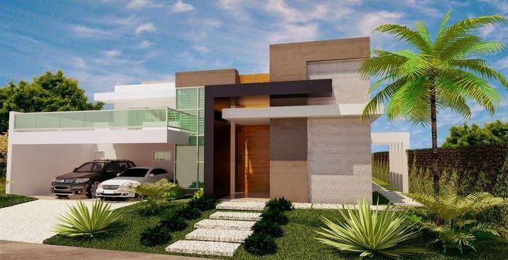 Fachadas de casas de 2 plantas moderna