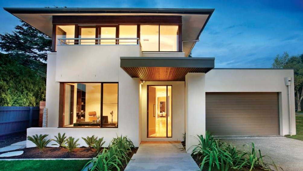 Fachadas de casas modernas de 10 mts de frente