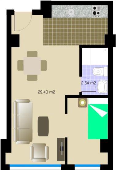Medidas estandar de una casa habitacion