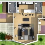 Planos de casas de 3 dormitorios en guatemala de terraza