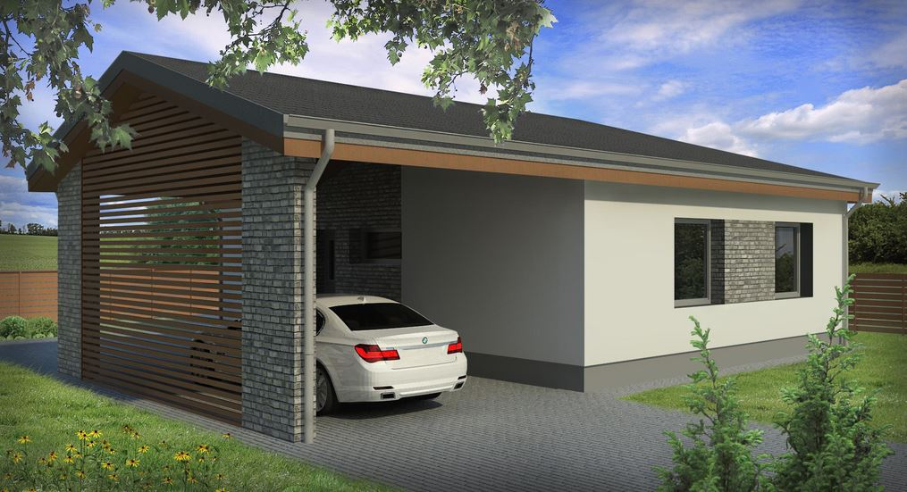 Planos de casas modernas planos de casas - Casas de una planta ...