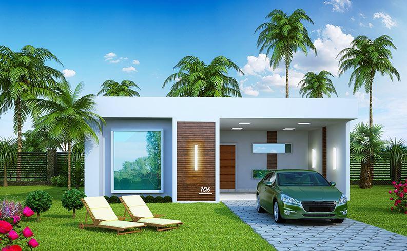 Casa de 10x20 con piscina
