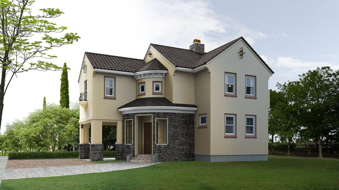 Casas bonitas y modernas perfect plano de casa amplia y for Planos de casas lindas