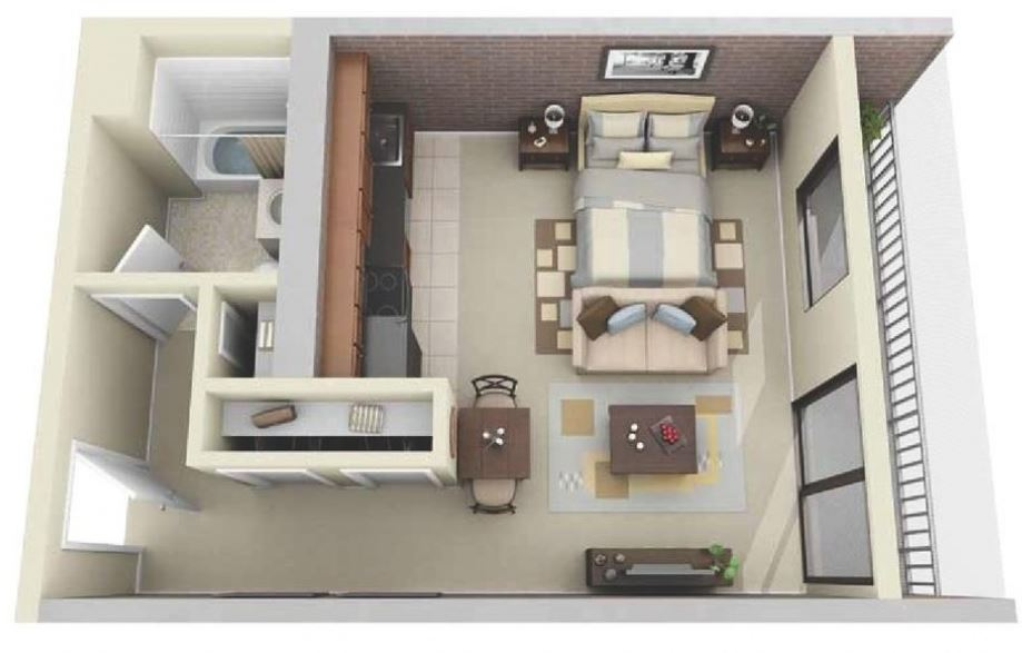 Diseno de cuartos de 4x5 - Disenos de cuartos ...