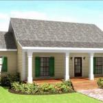 Diseño de casa de campo con corredores