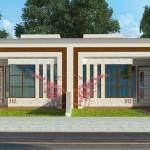 Modelos de casas de 5 metros de ancho por 9 de fondo