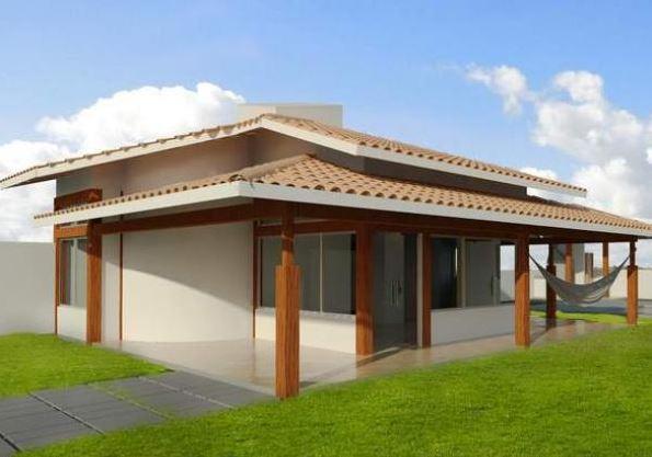 Diseño para una casa de 10 x 10 m2