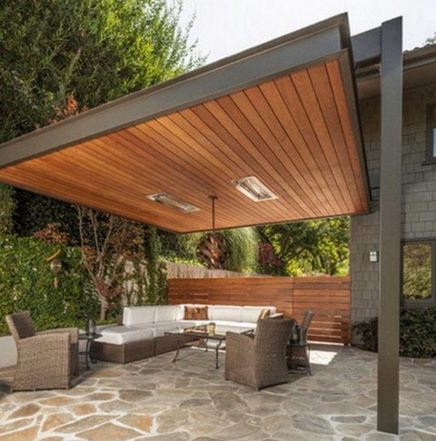 Imagenes de fachadas de quinchos for Imagenes de techos modernos