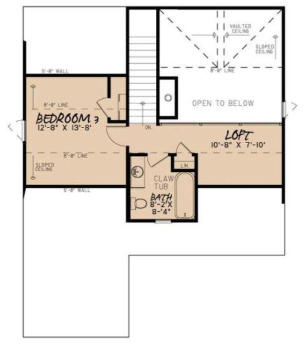 Plano de casa de 150 metros cuadrados