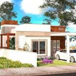 Diseño de vivienda terreno de 7 x 14
