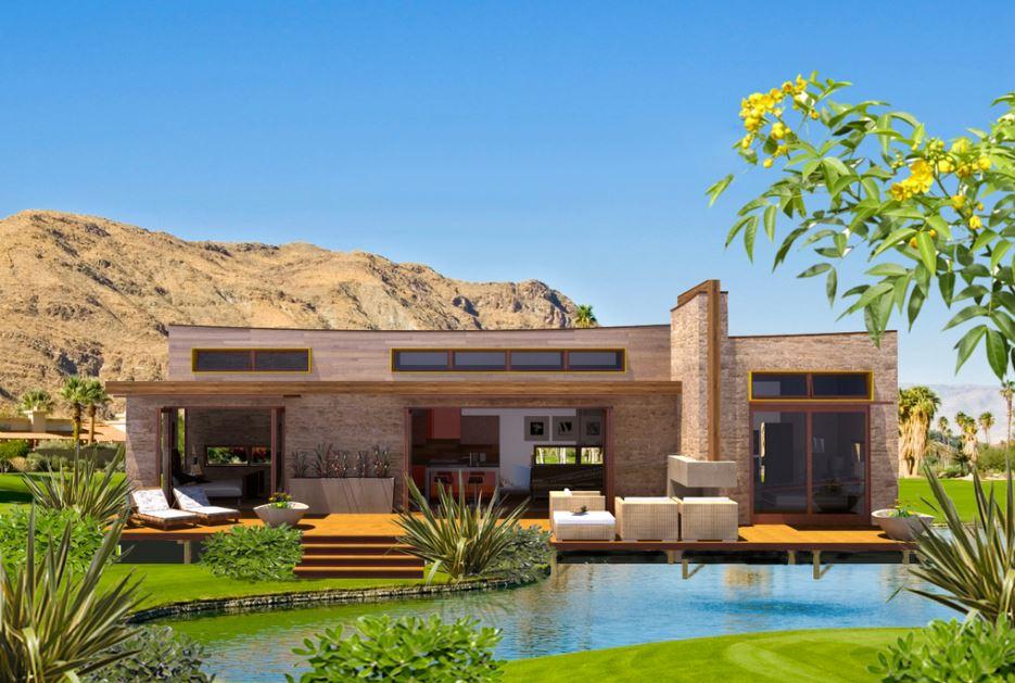 Imagenes de casas modernas con jardin adelante y atras