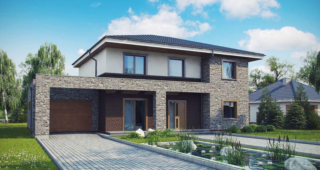 Planos casa 150 metros cuadrados con jardin y patio