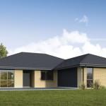 Planos de casas en forma de T