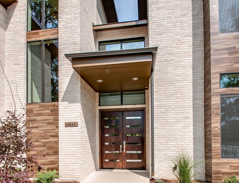 Distintos tipos de aleros para frentes de casas for Disenos de frentes de casas modernas