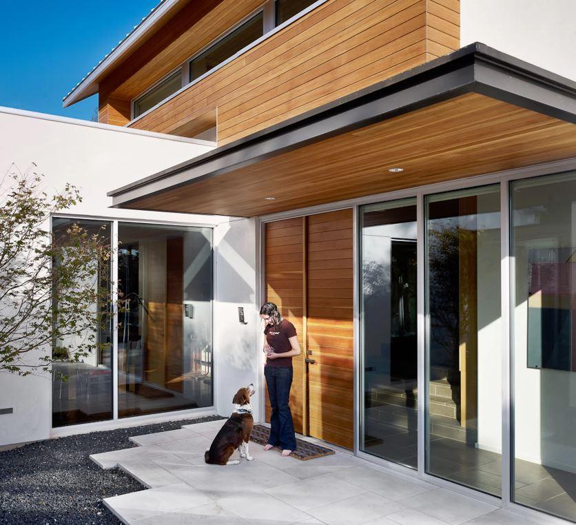 Distintos tipos de aleros para frentes de casas - Locales prefabricados ...
