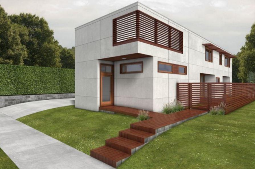 Casa de 4 mts de ancho por 15 largo