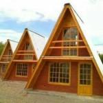 Listado de materiales para cabaña alpina