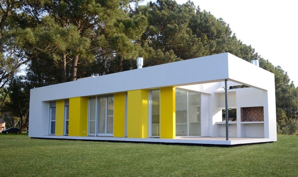 Plano de casa de 4 metros de ancho por 8 metros de largo - Distribucion casa alargada ...