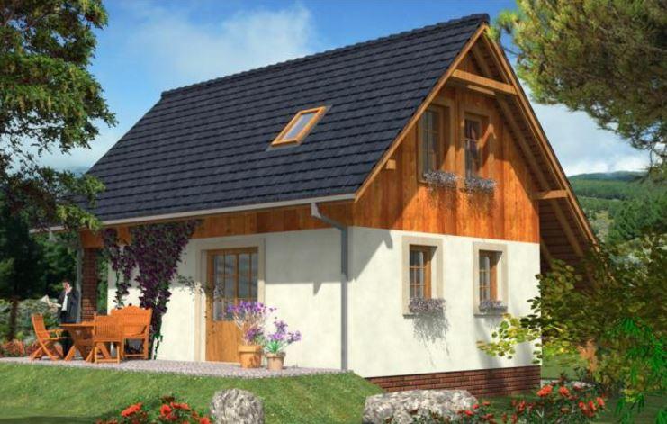 diseños de casas de dos pisos sencillas