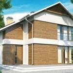 Planos de casas de 8×10 de 2 plantas