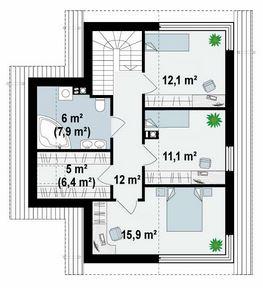 Planos de casas de 8x10 de 2 pisos