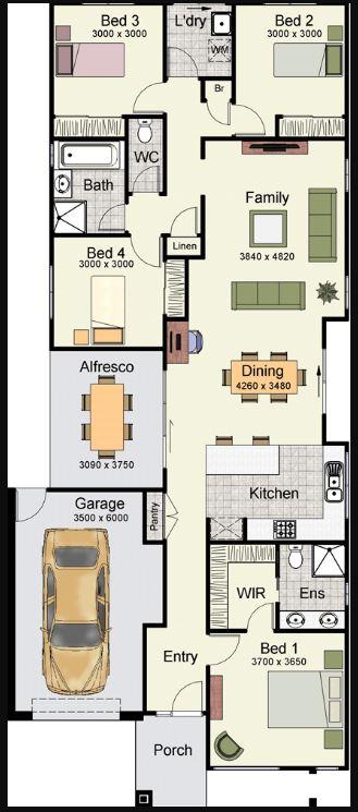 Planos de casas en un terreno de 15 x 20