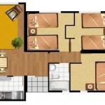 Planos de casas para terrenos de 7 x 15