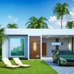 Casas con doble cochera para 10 m de frente